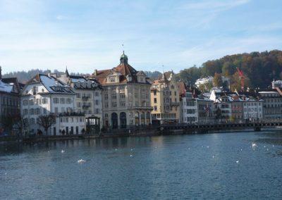German village on the water